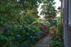 A antiga aldeia piscatória Haaldersbroek Fotografia de Stock
