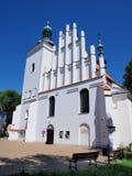 Antiga igreja de Bridgettine, Lublin, Polônia Imagem de Stock Royalty Free