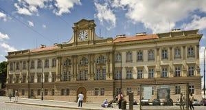Antigas casernas em Pohorelec, Praga fotos de stock royalty free