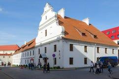 Antigo convento basilian na rua 1 de Engels, Minsk, Bielorrússia Foto de Stock Royalty Free