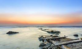 Antigo lugar da descida dos barcos Foto de Stock Royalty Free