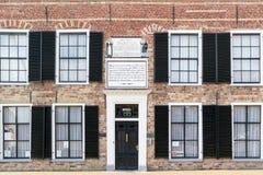 Antigo orfanato em Franeker, Friesland, Países Baixos Foto de Stock Royalty Free