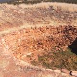 Antigos Kiva Near Pueblo, New mexico fotos de stock royalty free