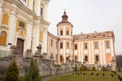 Antigos monastério do jesuíta e seminário, Kremenets, Ucrânia Fotos de Stock Royalty Free