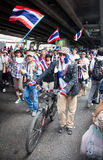 Antigovernment demonstration Thailand Stock Photography