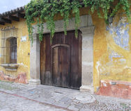 Antigua. The colors of Antigua Guatemala royalty free stock photo