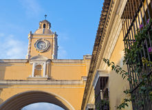 Antigua arch. The arch of antigua in Guatemala Stock Photos
