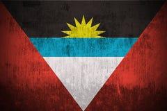 antigua Barbuda flagi crunch Zdjęcie Royalty Free