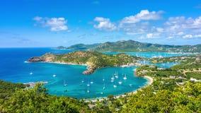 Antigua and Barbuda. Shirley Heights, Antigua and Barbuda stock footage