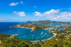 Antigua and Barbuda. Shirley Heights, Antigua and Barbuda royalty free stock photo