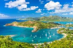 Antigua and Barbuda. Shirley Heights, Antigua and Barbuda stock photo