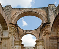 Antigua Cathedral ruins Royalty Free Stock Images