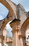 Antigua Cathedral ruins Royalty Free Stock Photography