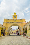 Antigua city in guatemala Stock Photography