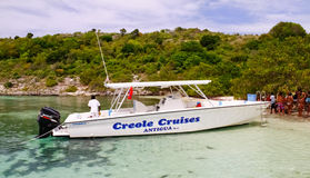 Antigua - Creole Cruises Bird Island Royalty Free Stock Photos