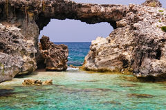Antigua - Devil's Bridge Royalty Free Stock Photography