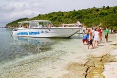 Antigua - Eli's Eco Tour Great Bird Island royalty free stock photography