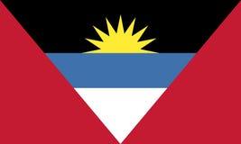 antigua flaga Barbuda wszystkie wektory byli mogą różne łatwo redagować formata grafika pojedynczo ablegrują strata ruszającego s Zdjęcia Royalty Free