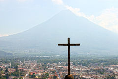 Antigua Guatemala Stock Afbeelding