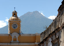 Antigua - Guatemala stock photo