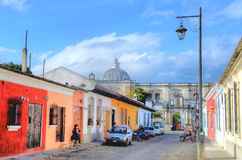 antigua guatemala Arkivfoton
