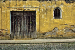 Antigua Guatemala Door. To a House Stock Images