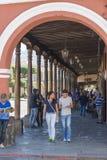 Antigua Guatemala Street Scene royalty free stock photo