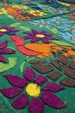 Antigua, Guatemala - Good Friday. Carpet Royalty Free Stock Photography