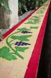 Antigua, Guatemala - Good Friday. Carpet Stock Photography