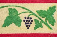 Antigua, Guatemala - Good Friday. Carpet Royalty Free Stock Images