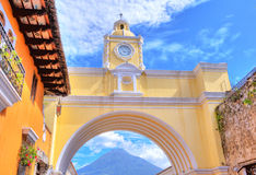 Antigua Guatemala stock photo