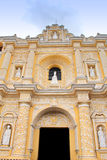 Antigua, Guatemala: La Merced Church, built in 1767, following g Royalty Free Stock Photos