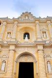 Antigua Guatemala: LaMerced kyrka som byggs i 1767, efter G Royaltyfria Foton