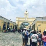 Antigua Gwatemala Ameryka Środkowa obrazy royalty free