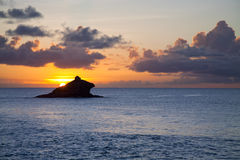 Antigua Hawksbill Rock Stock Images