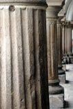 antigua kolonner guatemala fotografering för bildbyråer