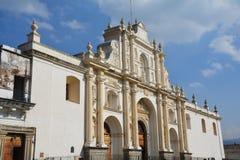 Antigua Kolorowy Stary miasteczko W Gwatemala obraz royalty free
