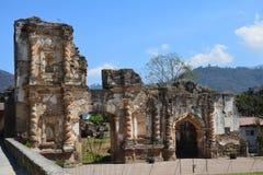 Antigua Kolorowy Stary miasteczko W Gwatemala obrazy royalty free