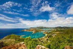 Antigua landscape Royalty Free Stock Photos
