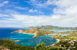 Antigua landscape Stock Photography