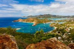 Antigua landscape royalty free stock photo