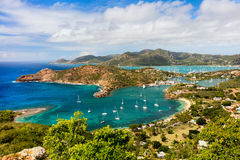Antigua-Landschaft lizenzfreie stockbilder