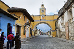 Antigua people Royalty Free Stock Photography