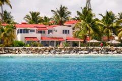 Antigua - Sandals Dickenson Bay condo resort Stock Photo