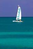 Antigua - Sandals Resort Sailboat Escape Stock Photography