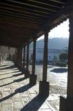 antigua stadsguatemala korridor Fotografering för Bildbyråer