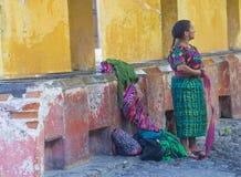 Antigua street laundry Stock Photos