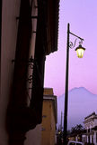 Antigua sunrise- Guatemala Stock Image