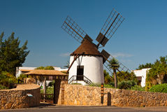 Antigua windmill. Old windmill in Antigua, Fuerteventura, Spain Stock Photography