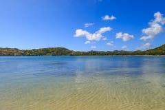 Antiguaans Kustlandschap Stock Foto's